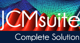 JCMsuite - The complete solution